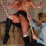 Perfect doll gets unwrapped and tested out by her new owner