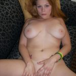 Hot solo session from a busty blonde with a lot of free time