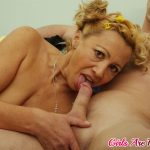 Lusty mommy is about to make her younger lover cum by riding hard