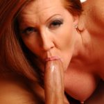 Exotic redhead milf rides a big meatpole until he sprays her with some juices