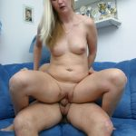 Hot blonde wife gets pounded by her husband while they are finally home alone
